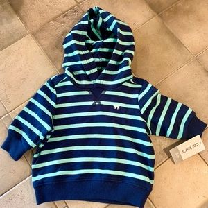 Carter's Pullover Hoodie- 3 mo